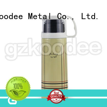 wall stainless steel water bottle thermos for wholesale Koodee