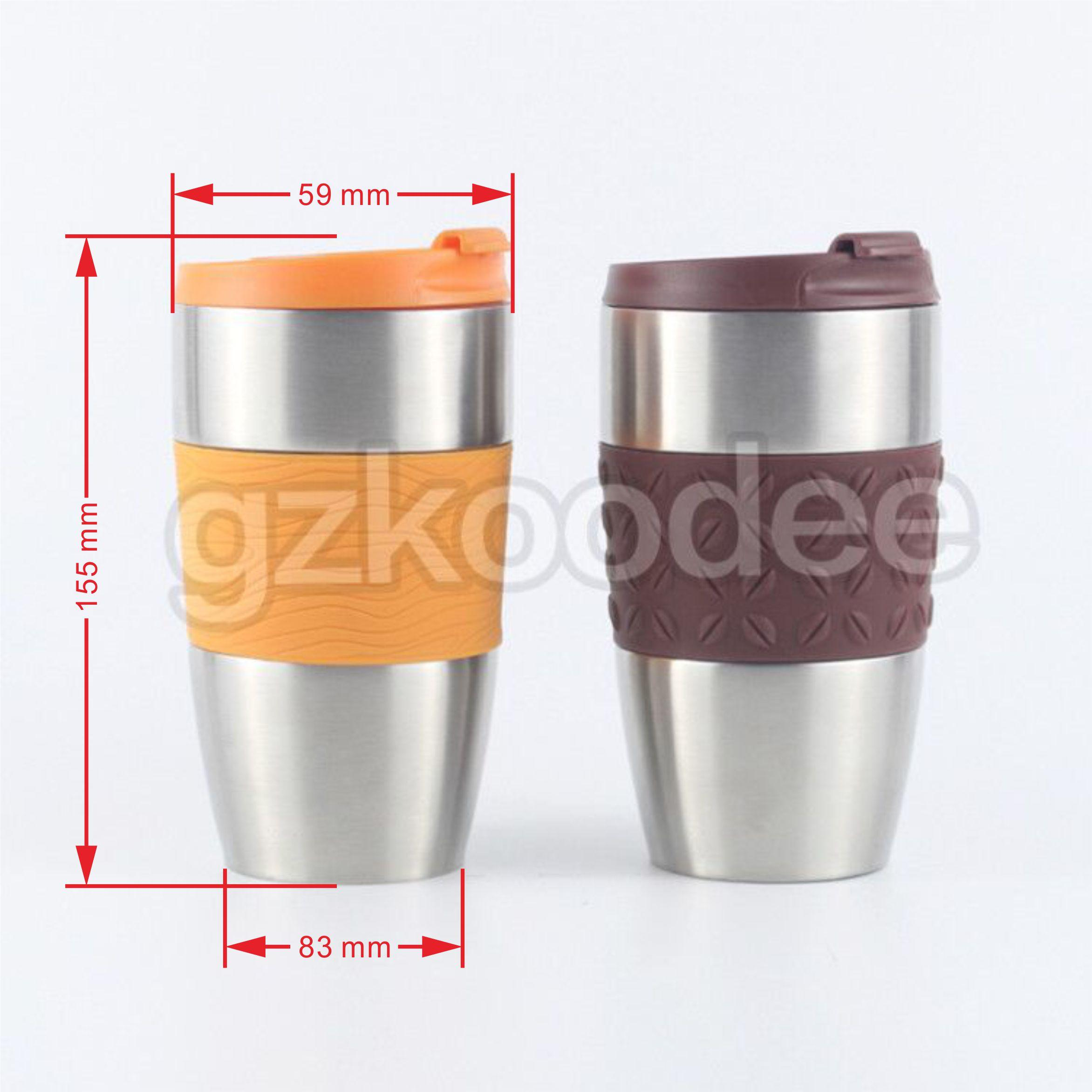 High Quality Fashion Vacuum Stainless Steel Vacuum Flask Water Tumbler 400ml Koodee-2
