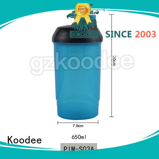 Koodee hot style plastic water bottle manufacturer big capacity for liquid