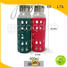 best glass water bottle with silicone sleeve silicone drinkware Koodee