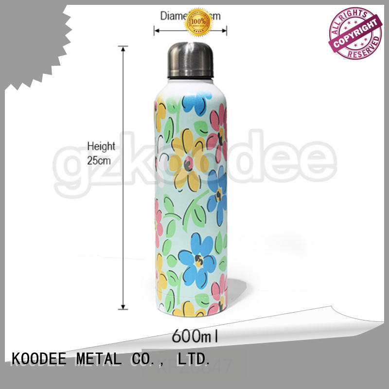 Koodee high-end vacuum water bottle wholesale for potable