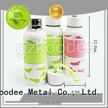 Koodee top brand metal thermos flask custom for student
