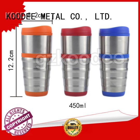Amazon hot sale eco-friendly neck proof vacuum coffee mug 450ml Koodee