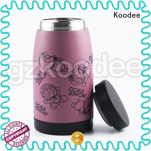 light-weight stainless steel water bottle BPA-free for drinking Koodee