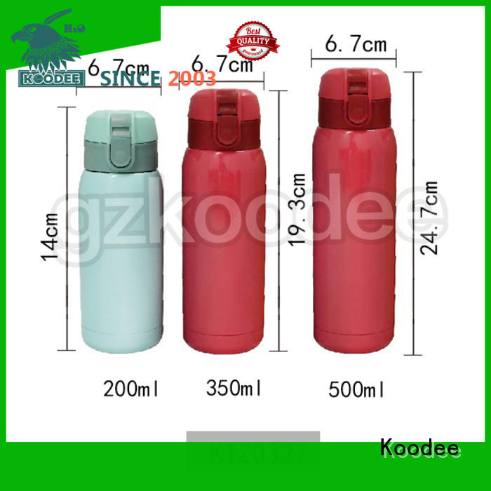 Koodee most popular thermosteel water bottle custom for student