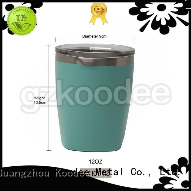 double wall best coffee tumbler in stock for pint Koodee