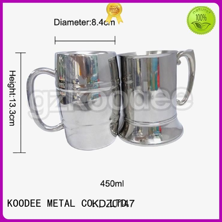 decorative stemless wine glasses sloped mouth for wine Koodee