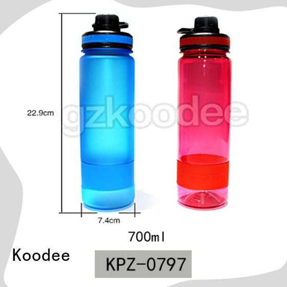plastic water bottle manufacturer customized for coffee Koodee
