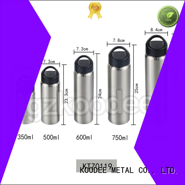 high-end stainless steel thermal bottle ODM for children Koodee