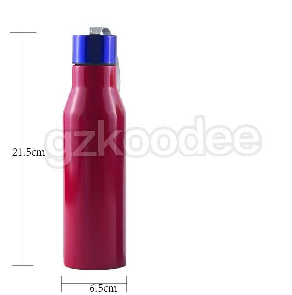 Double wall stainless water bottle with rope handle-2