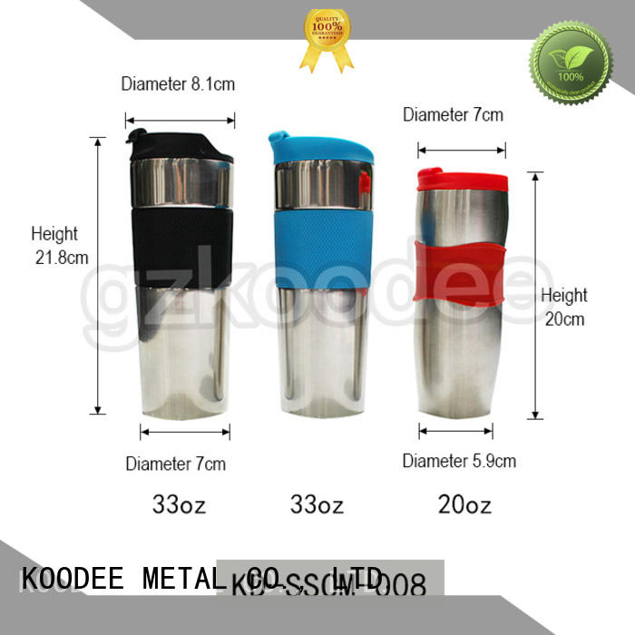simple design thermos coffee cup free sample for wine Koodee