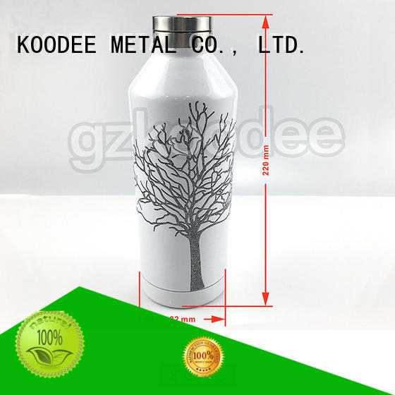 Koodee fashion best metal water bottle wholesale for drinking