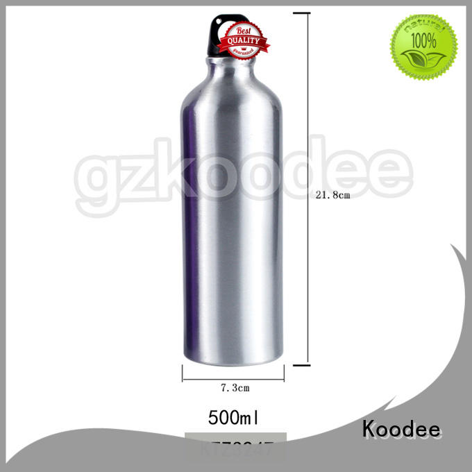 Sport Water Bottle Portable and Classical Shape Stainless Steel Material 500 ml Koodee