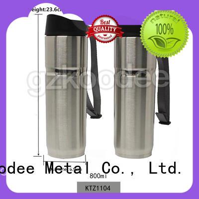 leak-proof stainless steel travel coffee mugs in stock for coffee Koodee