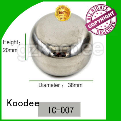 Koodee stainless steel metal ice cubes for spirit