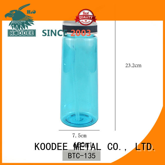 Koodee double high quality plastic water bottles classic for coffee