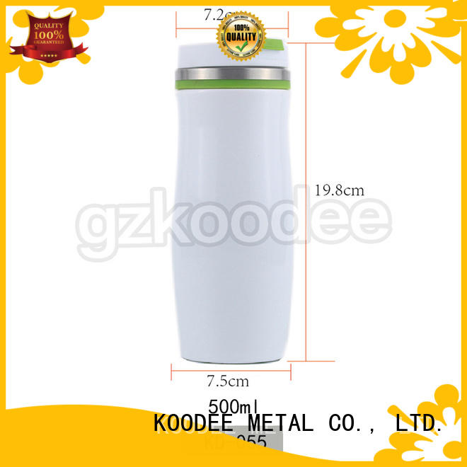 Stainless Steel 500mL Vacuum Fashion Flask Thermos Travel Coffee Mug 500ml Koodee