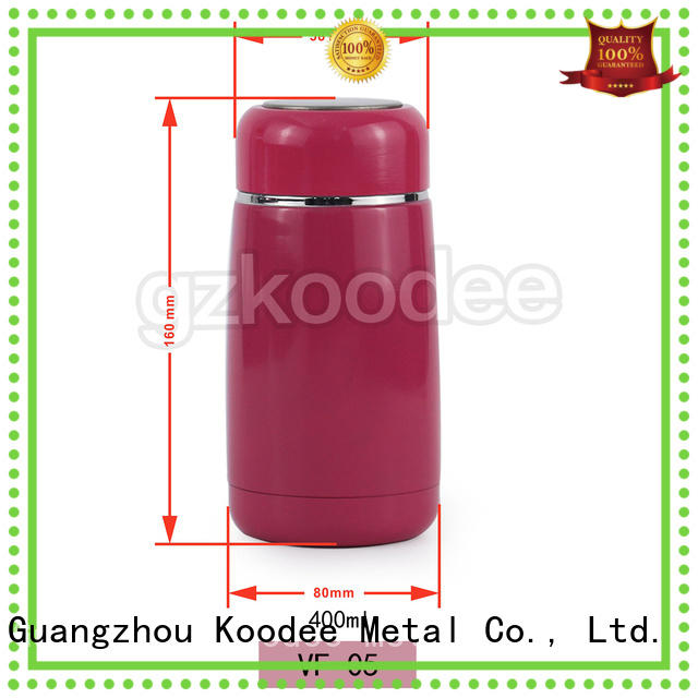 Koodee double wall steel thermos bottle order now for water bottle