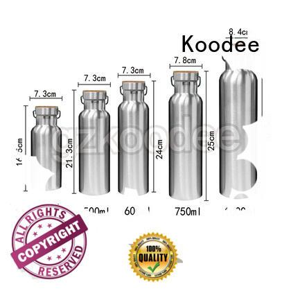 vacuum water bottle top brand for potable Koodee