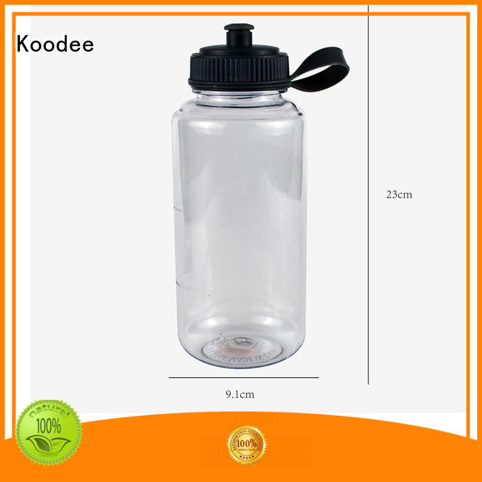 competitive plastic drink container with tap low price for coffee Koodee