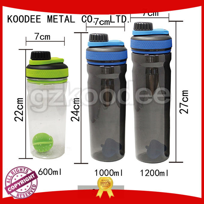 Koodee casual plastic drink container with tap lock for coffee