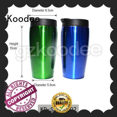 insulated coffee mugs modern design for potable Koodee