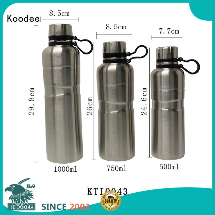 Koodee bulk production insulated thermos free sample for potable