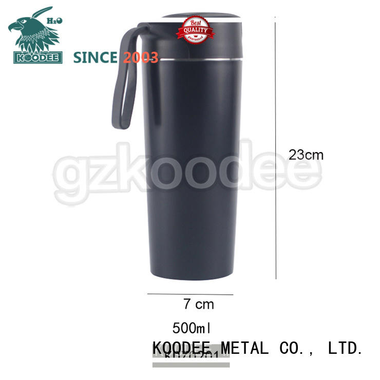 stainless steel stainless steel insulated coffee mugs modern design for potable Koodee