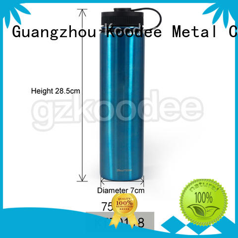Koodee factory direct selling metal drink bottle at discount for water bottle